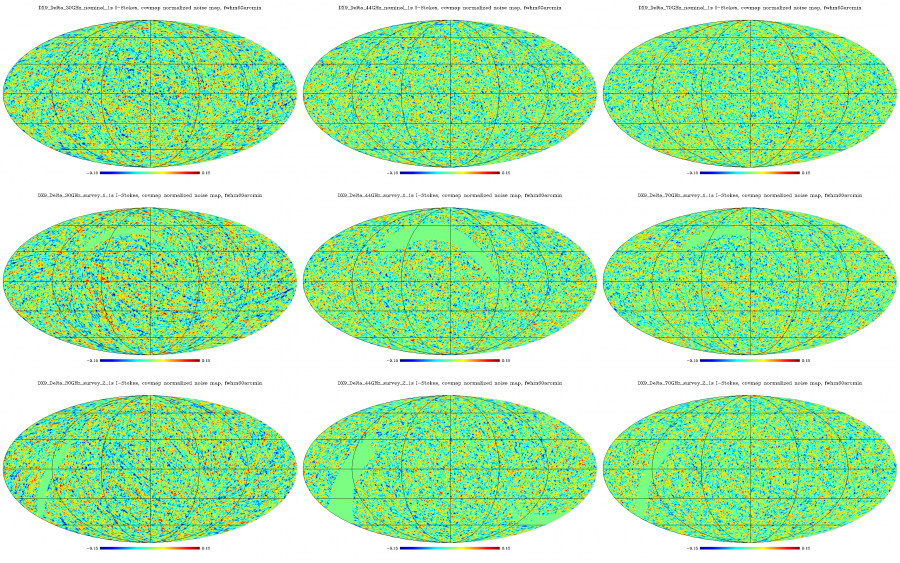 LFI 4 5 5 3 DX9 Delta NormalizedTemperatureNoiseMap 1s frequency and SScomparison fwhm60arcmin.png